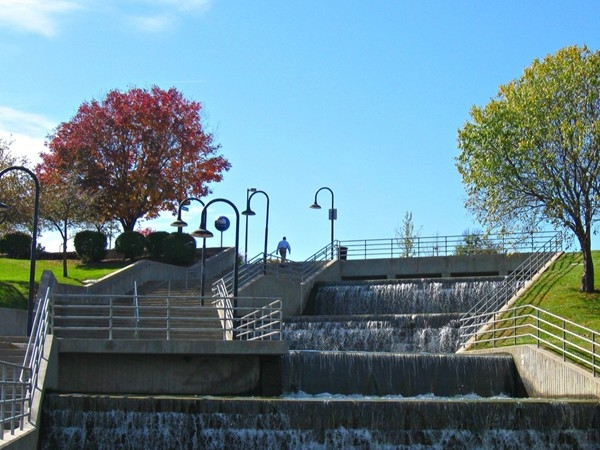 Heartland of America Park in downtown Omaha