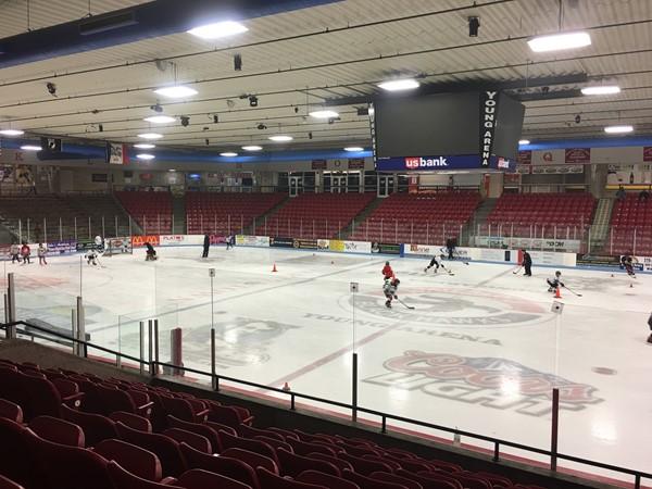 Waterloo Youth Hockey practice