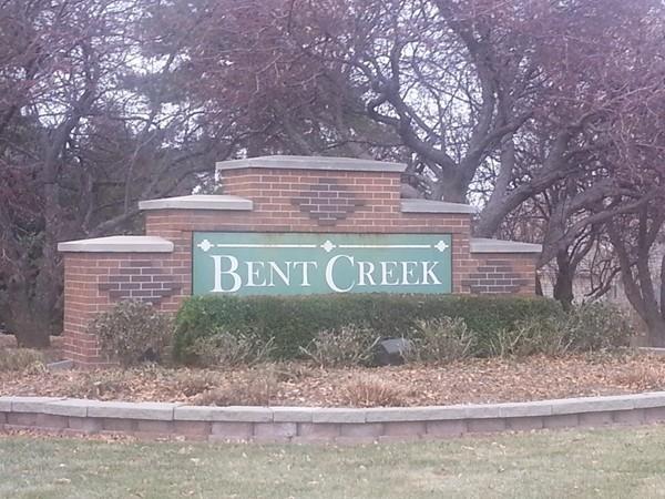 Entrance to the Bent Creek neighborhood