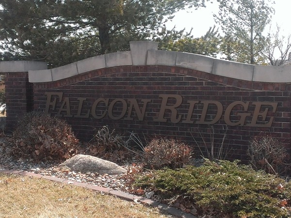 Entry Monument for Falcon Ridge