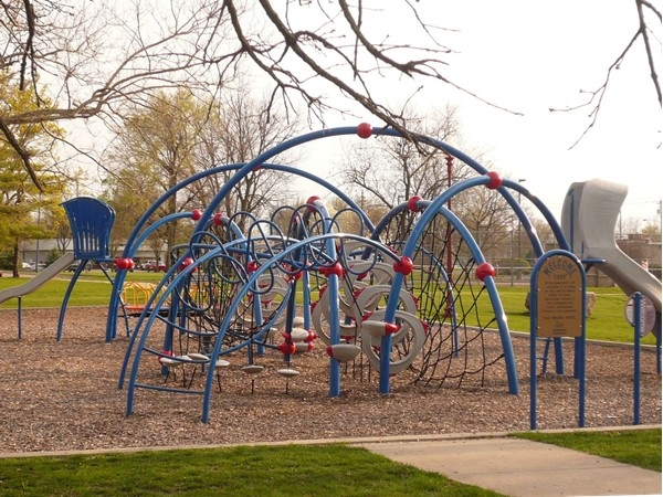 Recent playground addition at Haines Park in Altoona