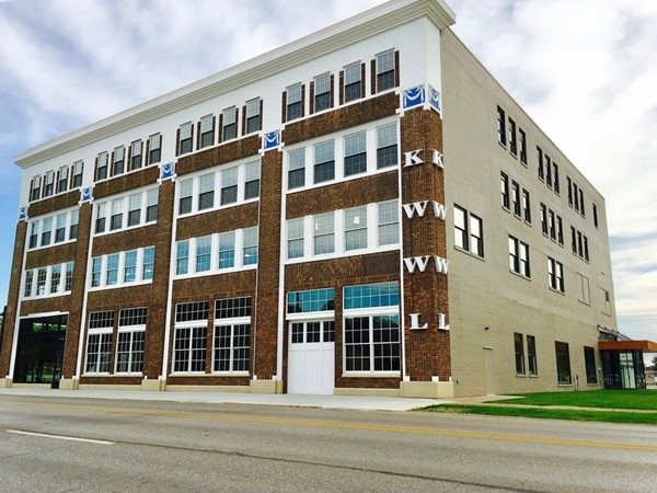 Restoration to iconic KWWL building in Downtown Waterloo was completed in late summer of 2017