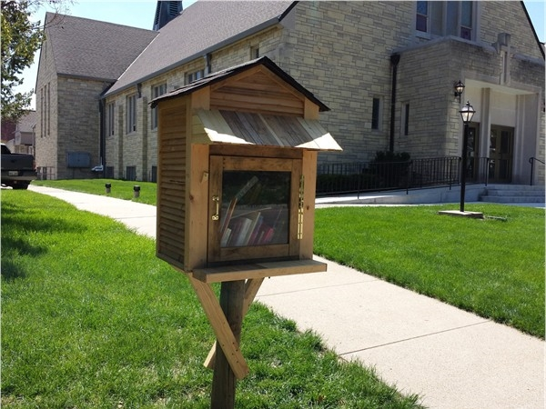Little Free Library at 2225 Washington Street, Lincoln, NE