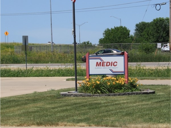 We have a MEDIC EMS station located right by the highway