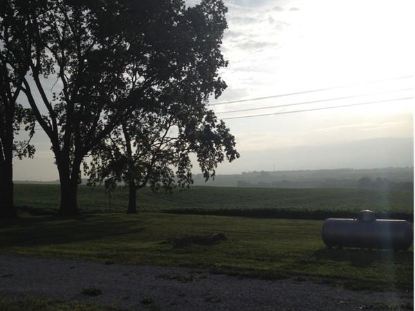 Farm mornings are so beautiful