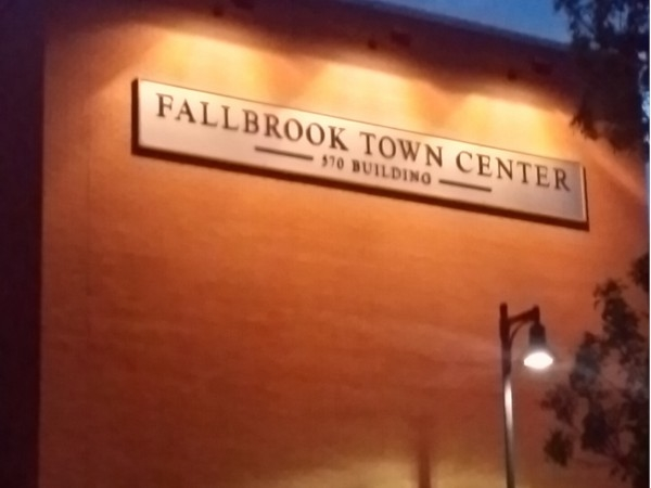Fallbrook Town Center is close to the Highlands
