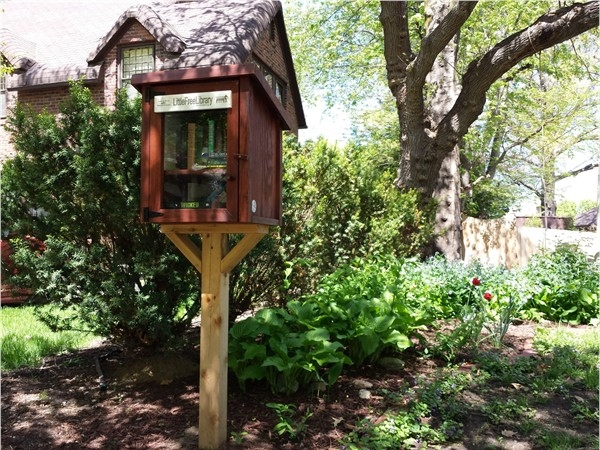 Nice Little Free Library in Lincoln