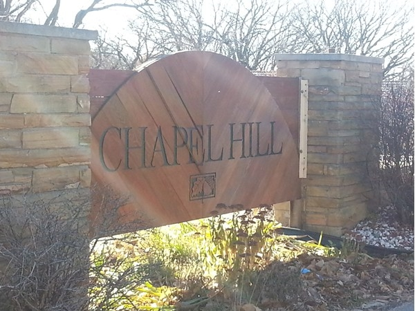 The entrance to Chapel Hill