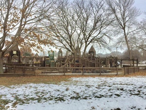 Elk Run Preschool playground