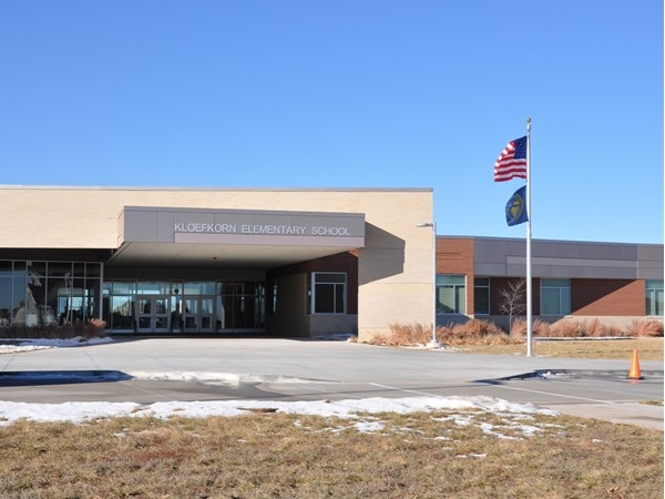 Kloefkorn Elementary School is located in Vintage Heights & is one of Lincoln's newest schools