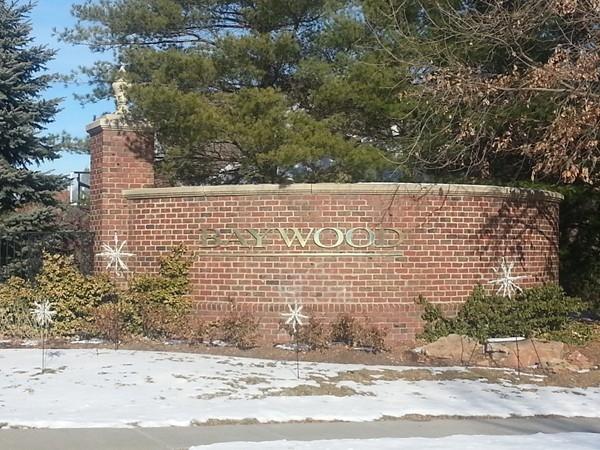 Baywood entrance