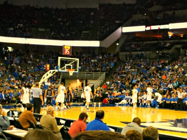 Centurylink Center Omaha. First Creighton Men's Basketball game 2014-2015 Season