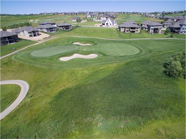 Aerial View of #13 Green and beyond