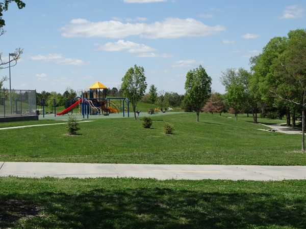 Densmore Park - baseball, tennis, playground, walking trails - everything you could want