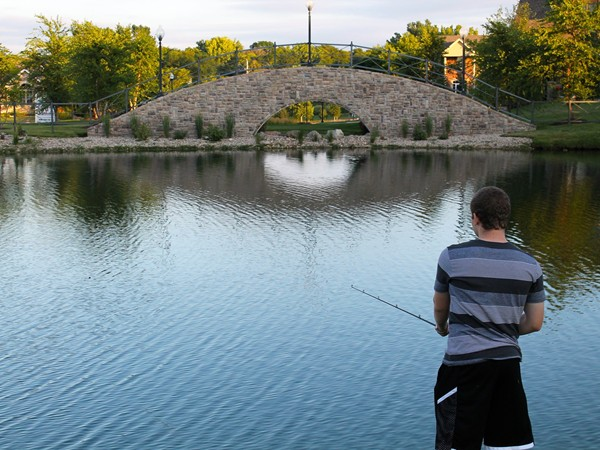 Enjoy fishing in the stocked ponds