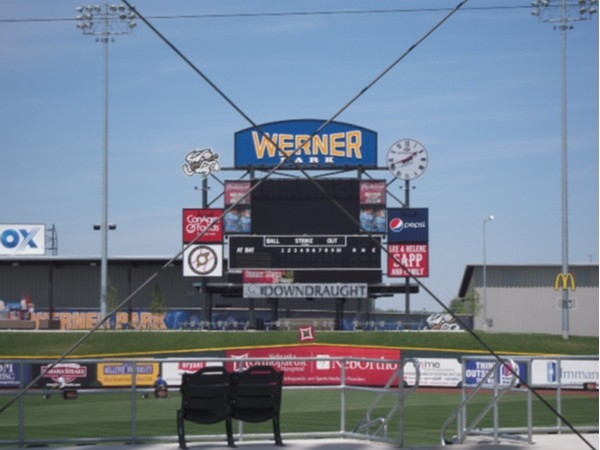 Werner Park, home of the Stormchasers is a newer park that also has entertainment for the kids