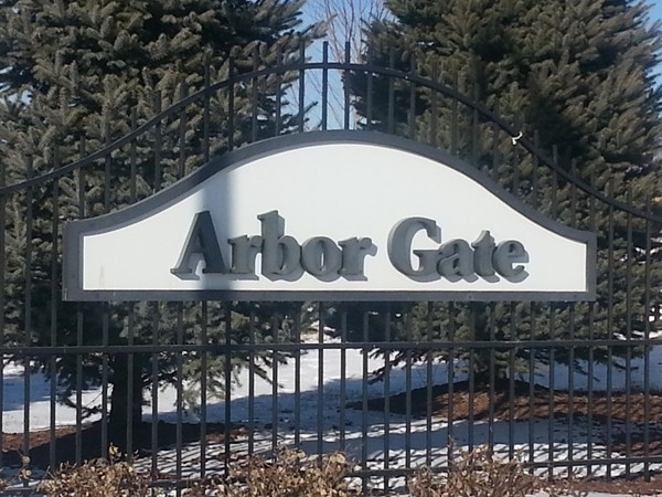 The entrance to Arbor Gate