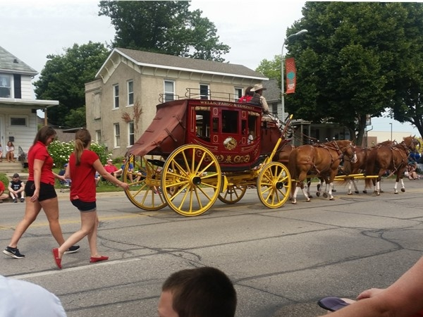 The Sturgis Falls Parade had beautiful weather and a tremendous turnout