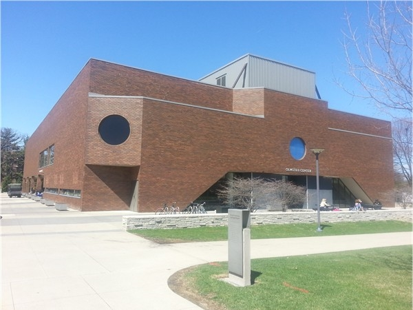 Olmsted Center aka Student Life Center at Drake University