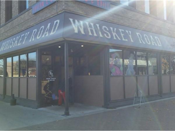 Whiskey Road Restaurant in downtown Cedar Falls