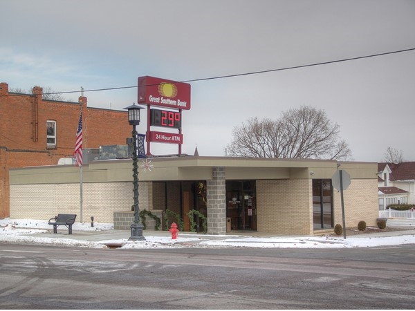 The Great Southern Bank conveniently located in Fort Calhoun