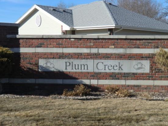 Plum Creek in Gretna