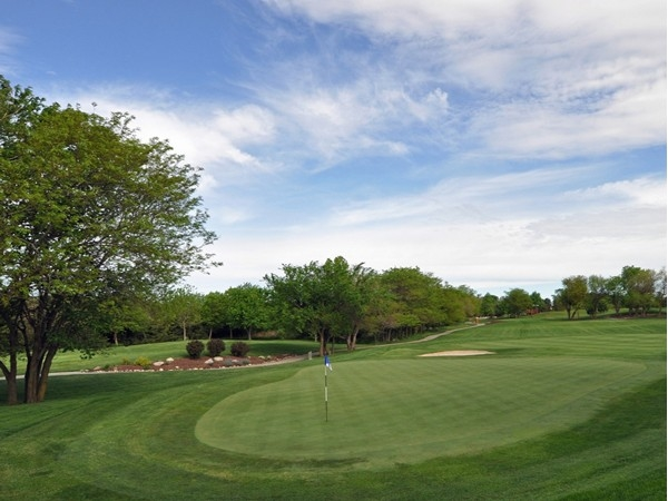 Hole # 2 is a Par 3 that has a few hazards, but it's the green and pin placement that will get you!