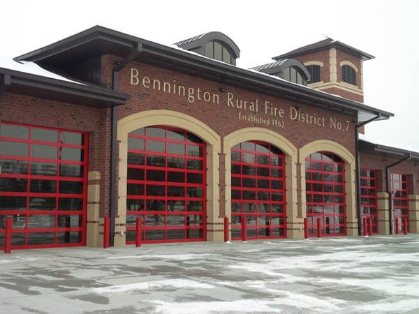Bennington Rural Fire Deptartment at your service