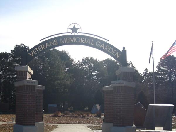 Veterans Memorial Garden, Antelope Park