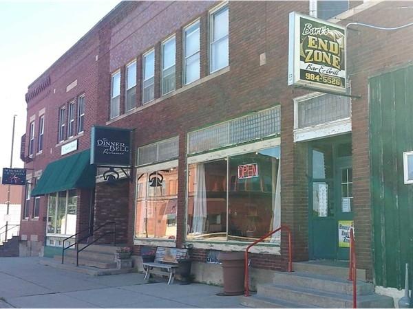 Local bars/restaurants.  Whiskey Junction, The Dinner Bell, Bart's End Zone