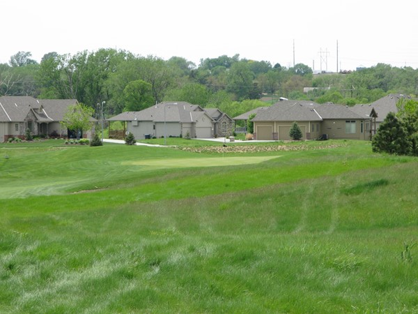 Deer Creek homes west of the #12 hole