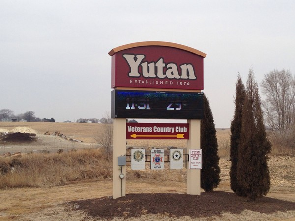 Welcome to Yutan! Just ten minutes to Omaha