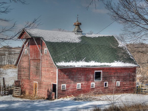 One of my favorites..a gambrel barn in Washington County.