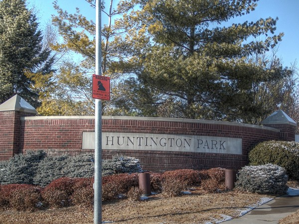 One of the entrances to Huntington Park on 156th Street