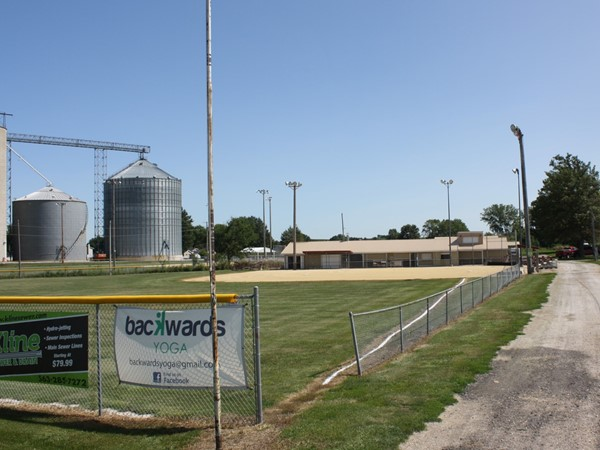 Donahue has softball/baseball fields located on the southeast side of town