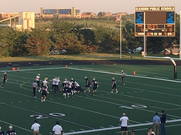 A great night to kick off high school football - Elkhorn South vs York