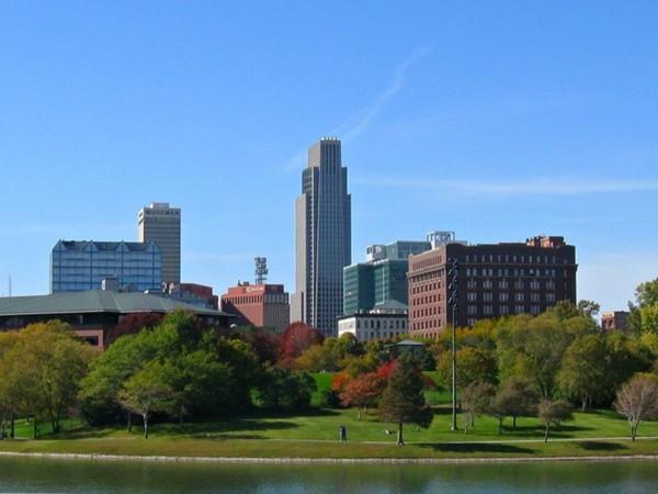 First National Tower, Omaha World Herald Headquarter, Conagra Foods, Woodman of the World Omaha, NE