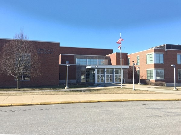 Cedar Falls High School includes grades 10-12 with an enrollment of around 1125
