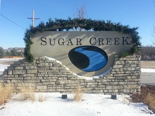 Sugar Creek neighborhood