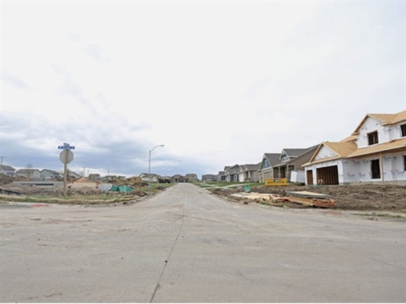 Rock Creek Crossing Community in Ankeny, as of May 1st 2014