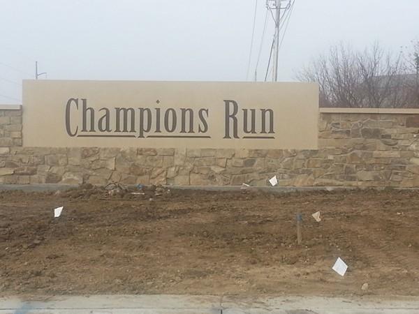 Champions Run entrance