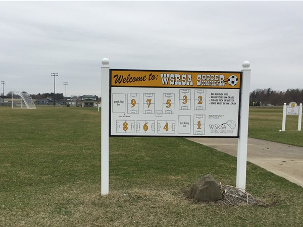 Waverly Shell Rock Soccer Association Complex has nine fields