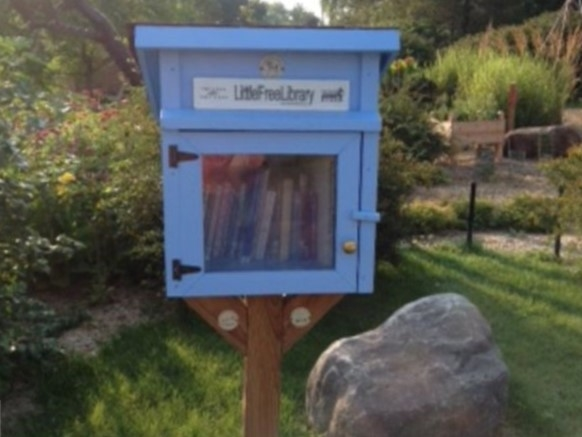 Little Free Library at the Enabling Gardens