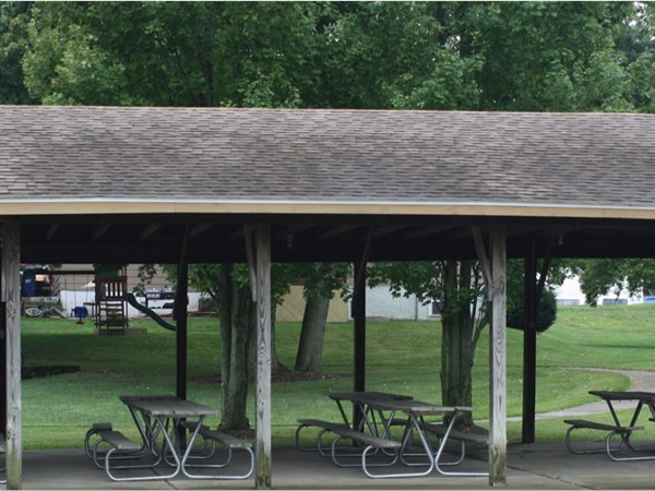 Pavilion at the Community Center