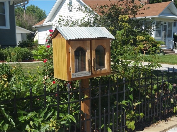 Little Free Library. Go and grab a book