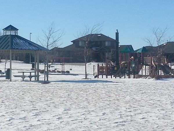 Playground at the park in Bellbrook