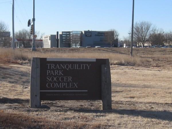 Tranquility Park Soccer Complex Just East Of View Neighborhood In Omaha Nebraska