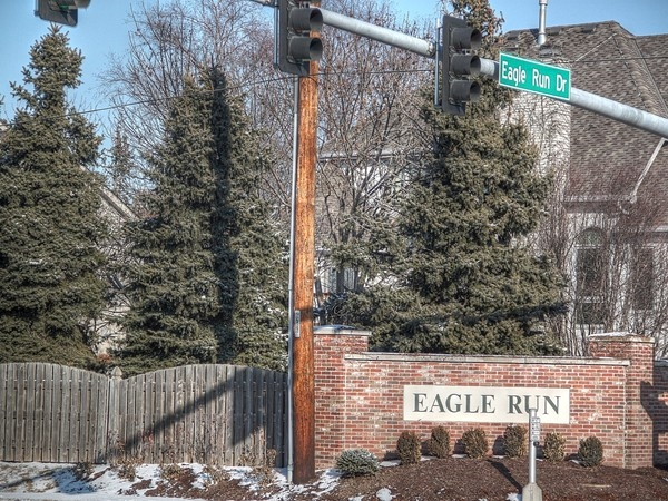 Entrance to Eagle Run