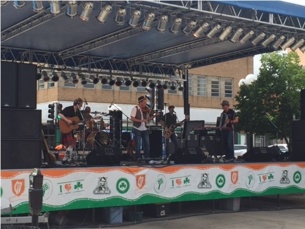 One of the many outstanding musical acts at Iowa Irish Fest 2016
