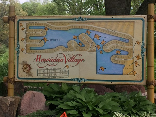 Our new map sign